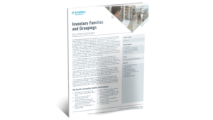SYSPRO-ERP-software-system-inventory-families-groupings-factsheet